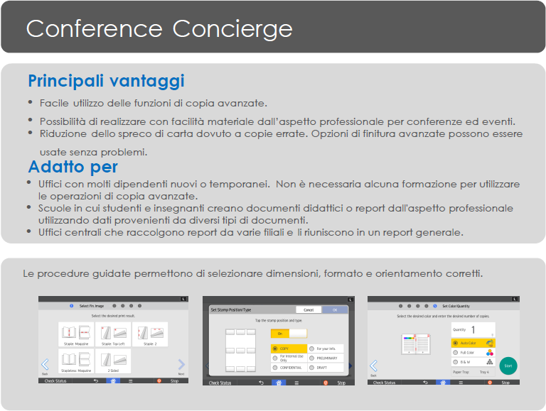 App Ricoh Conference Concierge