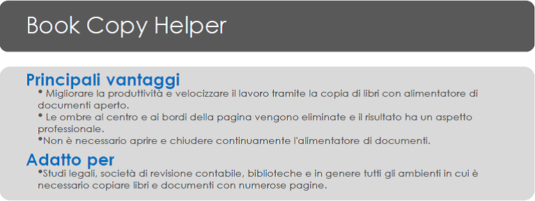 App Ricoh Book Copy helper